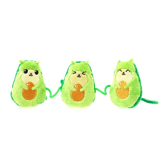 Fuzzyard Cat Toy Avocatos Each Pet: Cat Category: Cat Supplies  Size: 0.1kg Colour: Multi  Rich...