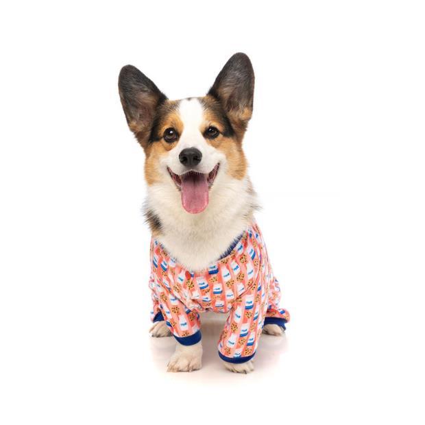 Fuzzyard Pyjamas Sleepy Time Size 4 Pet: Dog Category: Dog Supplies  Size: 0.2kg Material: Cotton  Rich...
