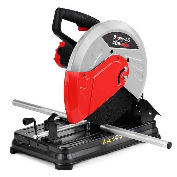 "The Baumr-AG COS-355 14"" Portable Metal Cut-Off Saw makes the cut every single time. Built with the..."