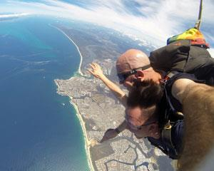 Experience the rush of skydiving with this tandem skydiving adventure on the Sunshine Coast. Jump out...