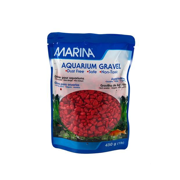 Marina Gravel Red 450g Pet: Fish Category: Fish Supplies  Size: 0.5kg Colour: Red  Rich Description:...