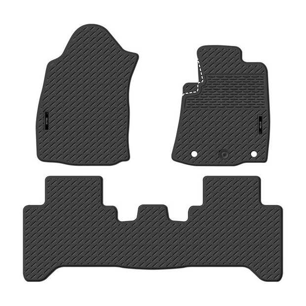 Precision Fit Rubber Car Mats To Suit Toyota Hilux Dual Cab Workmate/Sr/Sr5 08/2015-OnwardsOur range of...