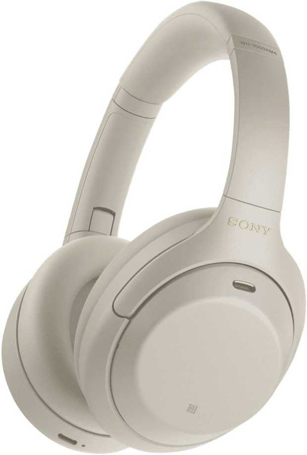 Block out the world with these new Sony Premium Noise Cancelling Headphones WH1000XM4 in Silver with a...