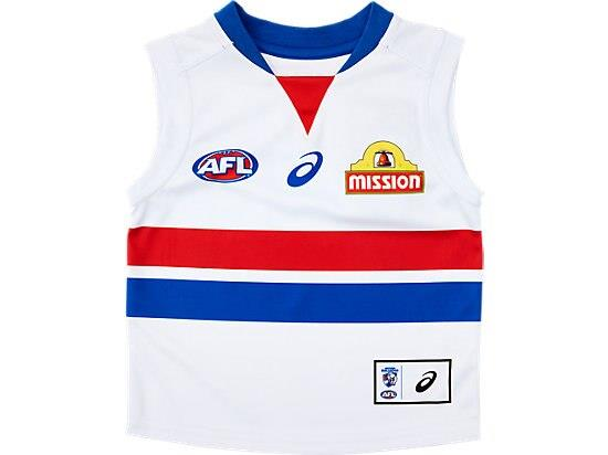 The Infant Replica Home Clash Guernsey features a lightweight performance polyester with a shoulder...