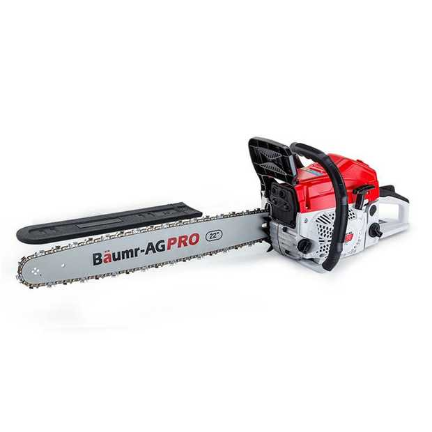 "From pruning hedges and cutting firewood, to taking down whole trees, the Baumr-AG SX75 Pro-Series 22""..."