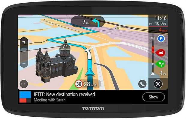 Updates via Wi-Fi® – World maps and software TomTom Traffic and Speed Camera Alerts Last Mile...