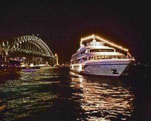 Secure your dinner cruise seat today aboard Sydney's most prestigious cruise ships. Offering million...