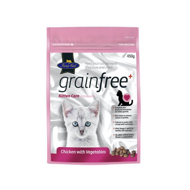 Fussy Cat Grain Free Dry Kitten Food Chicken 450g Pet: Cat Category: Cat Supplies  Size: 0.5kg  Rich...