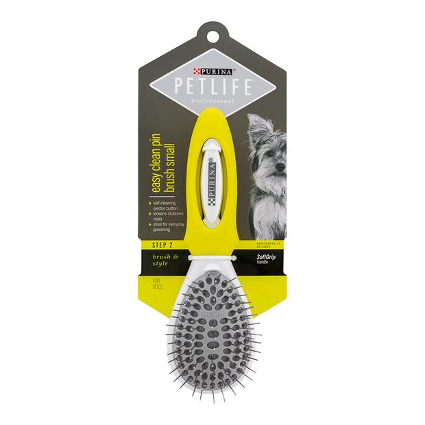 Petlife Professional Pin Brush Easy Clean Large Pet: Dog Category: Dog Supplies  Size: 0.1kg  Rich...