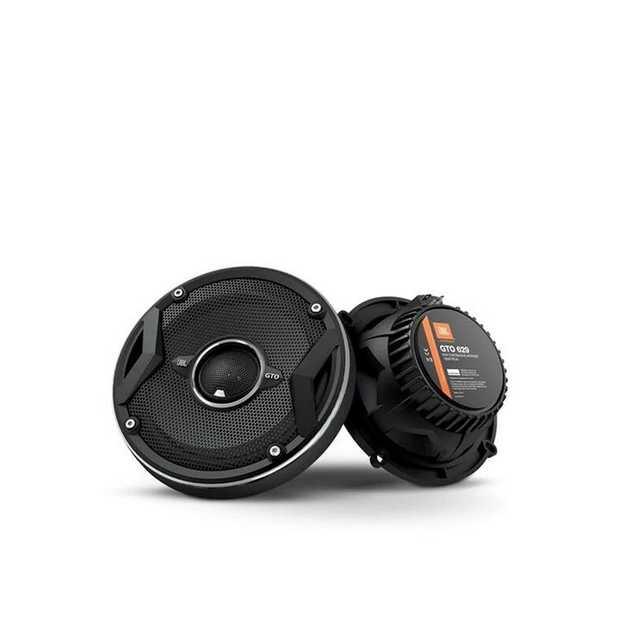 JBL GTO 629 6-1/2-inch (165-millimeter) speakers handle a robust 180 watts peak power (60 watts RMS).