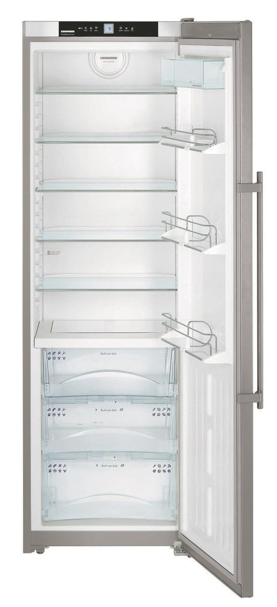 364L Fridge capacity 117L BioFresh SuperCool Forced air cooling SwingLine design Child proofing Energy...