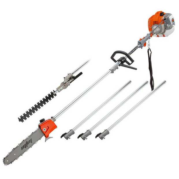 Why buy a stack of different tools when there's one that can do it all? With two great attachments the...