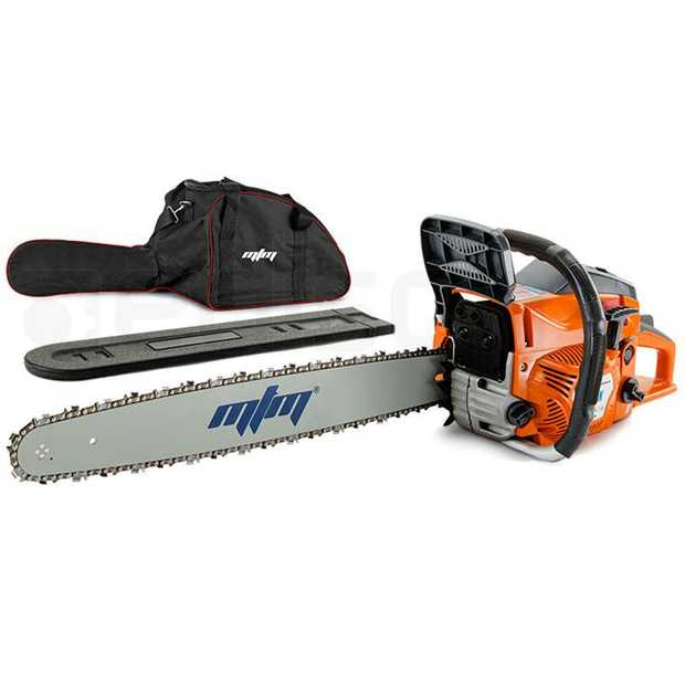 The MTM 72SX Chainsaw is the ultimate wood cutting companion. Whether you're pruning hedges, cutting...