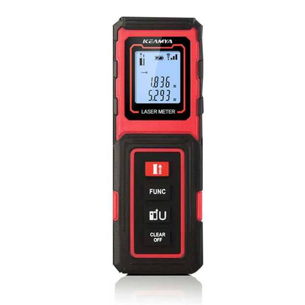 When it comes to facilitating high accuracy and productivity, the KEAMYA KY1-40 Laser Distance Measurer...