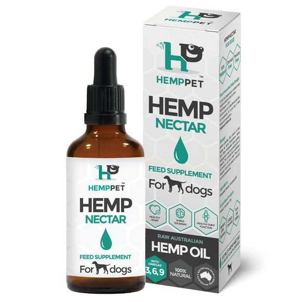 HempPet Hempseed Nectar Feed Supplement for Dogs 100ml is the perfect way to maintain excellent overall...