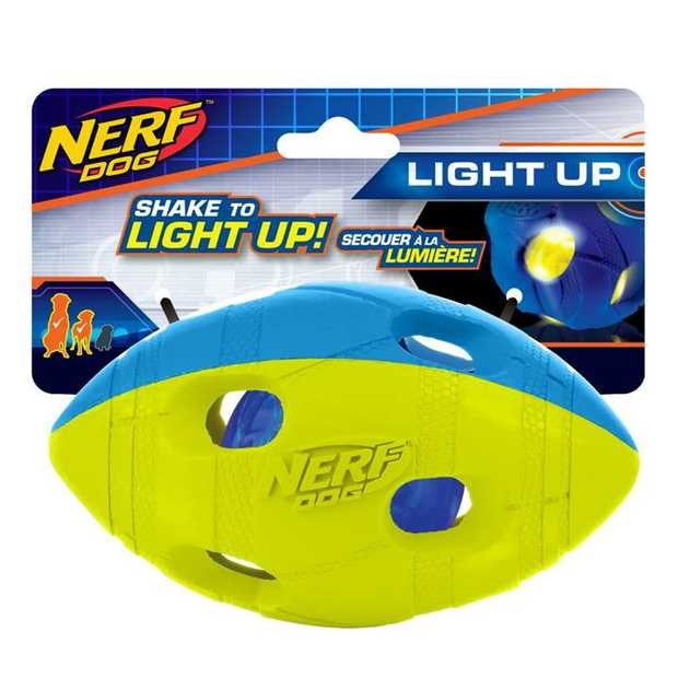The Nerf LED Bash Football Dog Toy 14cm will provide endless hours of fun for you and your furry...