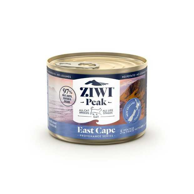 ZiwiPeak Canned Provenance East Cape Cat Food 12x170g is specially formulated to meet the nutritional...