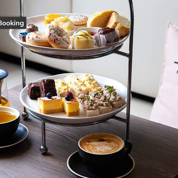 Prepare those pinkies, it's High Tea time! Mosey on down to The Simple Life Cafe inside the Myer Centre...