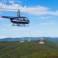 Take to the skies and soar over some of Brisbane's most iconic sites with the aviation experts at V2...