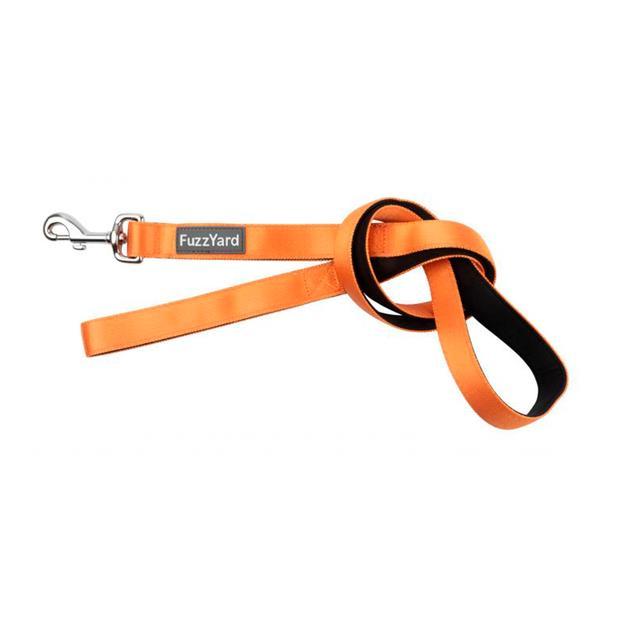 Fuzzyard Dog Lead Crush Large Pet: Dog Category: Dog Supplies  Size: 3.5kg Colour: Orange  Rich...