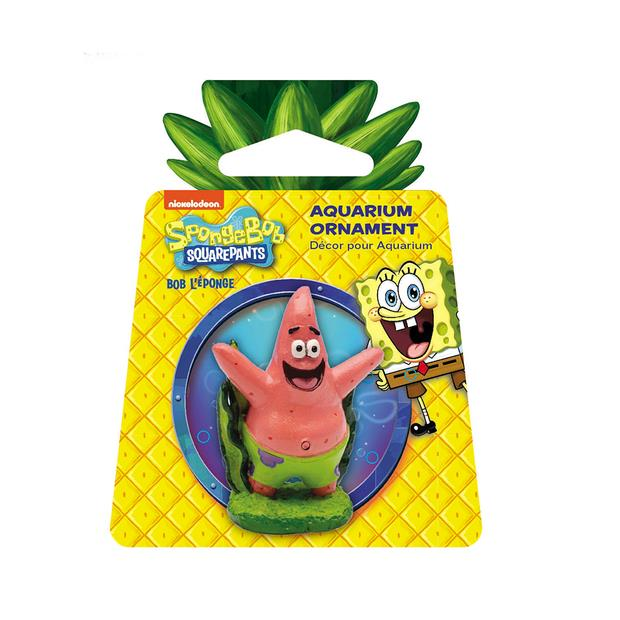 Penn Plax Spongebob Squarepants Patrick Mini Resin Replica Each Pet: Fish Category: Fish Supplies ...