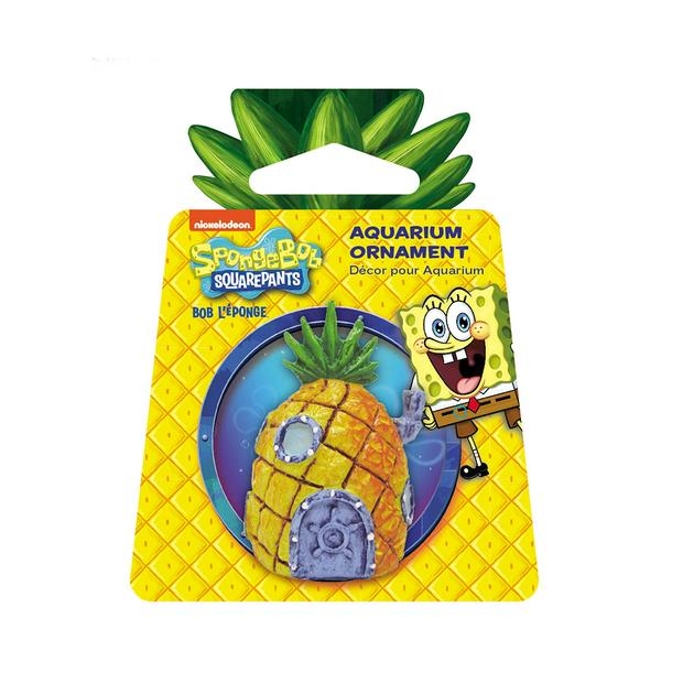 Penn Plax Spongebob Squarepants Pineapple Home Mini Resin Replica Each Pet: Fish Category: Fish...