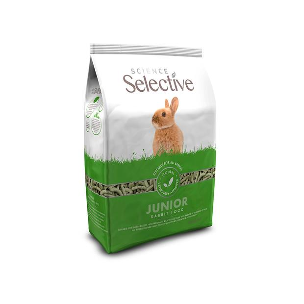 Science Selective Supreme Junior Rabbit Food 2kg Pet: Small Pet Category: Small Animal Supplies  Size:...