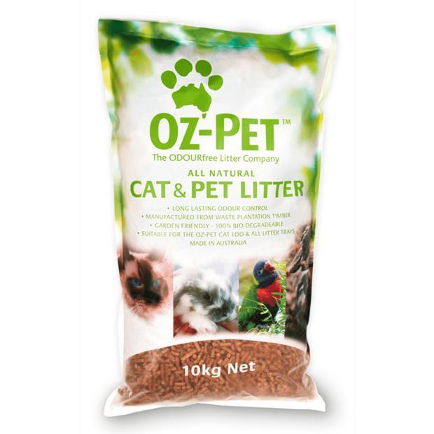 Oz Pet Animal Litter 10kg Pet: Cat Category: Cat Supplies  Size: 10kg Material: Wood  Rich Description:...