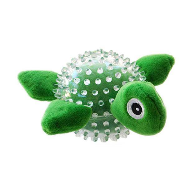 Ruff Play Durable Toy Tortoise Each Pet: Dog Category: Dog Supplies  Size: 0.1kg Colour: Green...