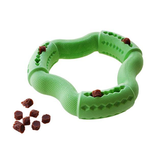 Ruff Play Foam Dental Treat Ring Each Pet: Dog Category: Dog Supplies  Size: 0.1kg Colour: Green  Rich...