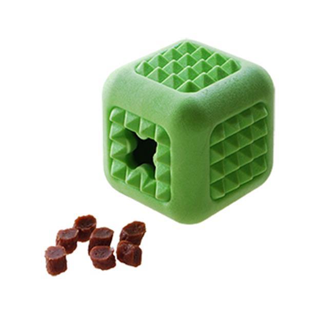 Ruff Play Foam Treat Cube Each Pet: Dog Category: Dog Supplies  Size: 0.1kg Colour: Green  Rich...