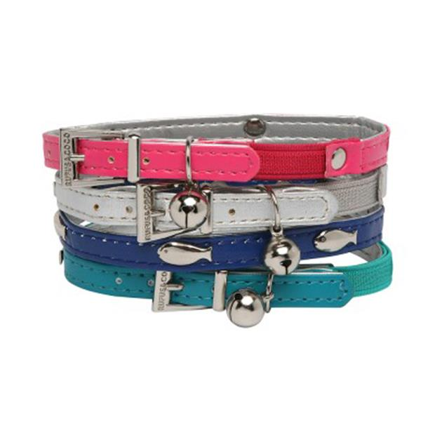Rufus And Coco Cat Collar Fish Stud Pink Each Pet: Cat Category: Cat Supplies  Size: 0kg Colour: Pink...