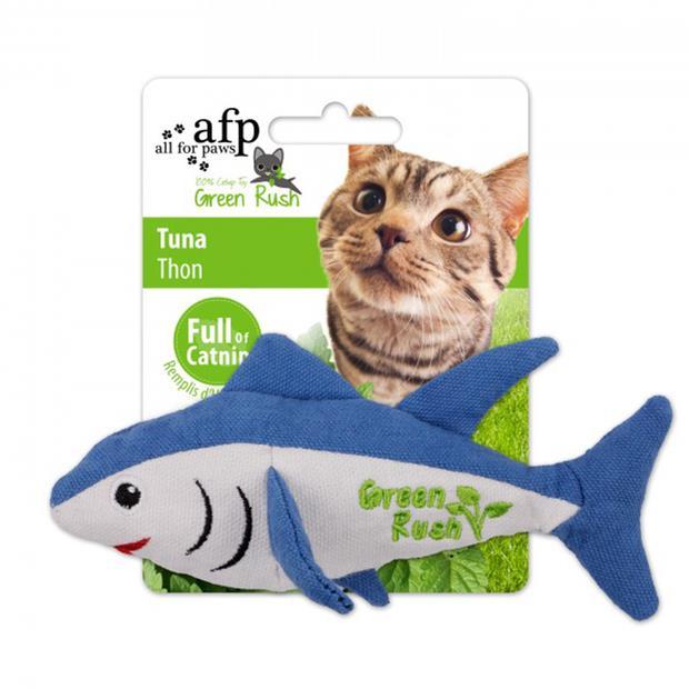 Afp Green Rush Tuna Cat Toy Each Pet: Cat Category: Cat Supplies  Size: 0kg  Rich Description: The...