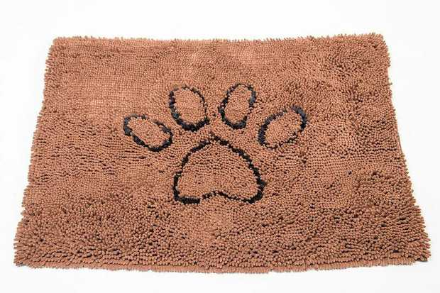 Keep your floor clean and dry using the Dog Gone Smart Dirty Dog Doormat Small Brown with its advanced...