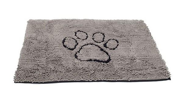 Keep your floor clean and dry using the Dog Gone Smart Dirty Dog Doormat Large Grey with its advanced...