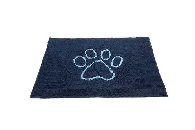Keep your floor clean and dry using the Dog Gone Smart Dirty Dog Doormat Blue with its advanced...