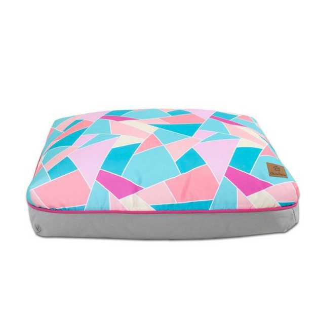 Give your furry friend a funky, comfy bed with the Charlie's Funk Pad Multi Triangle Dog Bed.  This...