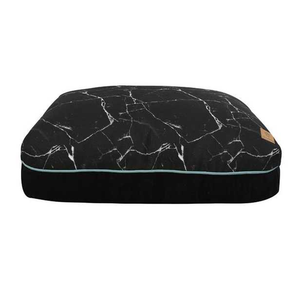 Give your furry friend a funky, comfy bed with the Charlie's Funk Pad Black Marble Dog Bed.  This high...