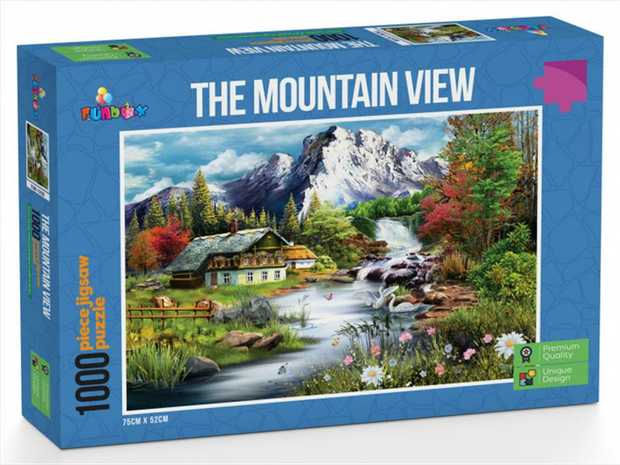 Premium Quality Jigsaw Puzzle  Each piece's shape is unique Matt finish.  Avoids eye...