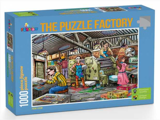 You'll never know how fun it is to put together a puzzle of a factory puzzle unless you...