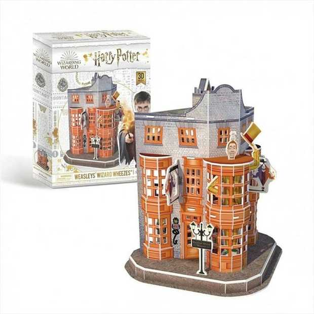 Age: 8 years and up  Approx finished puzzle dimensions: 19 x 17 x 15 cms Approx package...