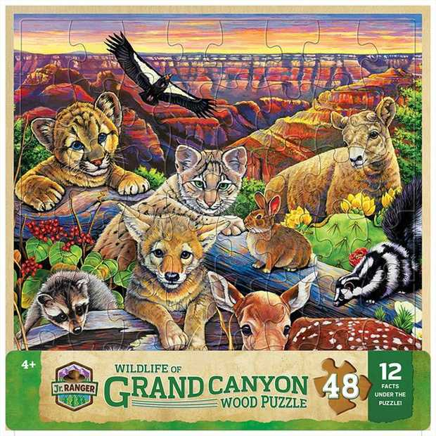 Explore one of the remarkable wonders of the world with Grand Canyon Wildlife - Fun Facts...