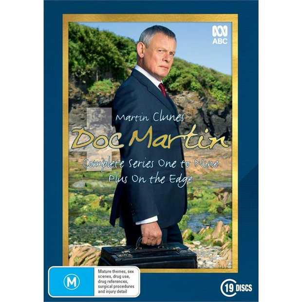 Doc Martin - Complete Series One to Nine Plus 'On The Edge'  When Martin Ellingham, a surgeon...