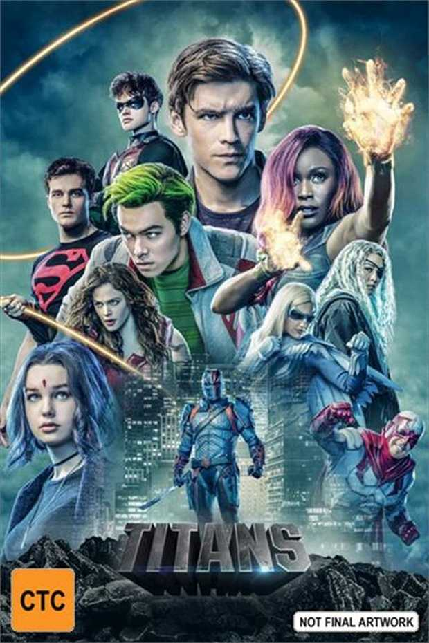 TITANS is an all-new live-action drama series that follows a group of young soon-to-be Super Heroes...