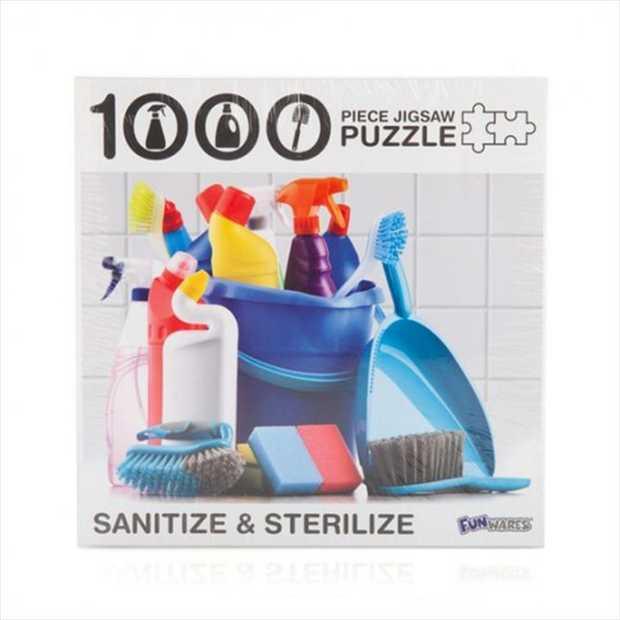 Sanitize & Sterilize 1000 Piece Jigsaw Puzzle      1000 piece...