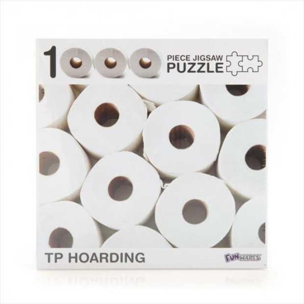 Toilet Paper 1000 Piece Jigsaw Puzzle      1000 piece puzzle...