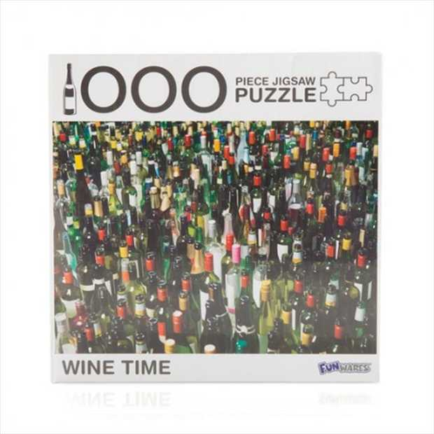 Wine Time 1000 Piece Jigsaw Puzzle      1000 piece puzzle featuring...