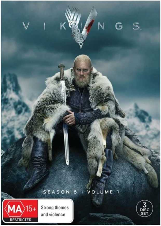 Vikings - Season 6 - Part 1 DVD         The Storm Is Coming  The epic...