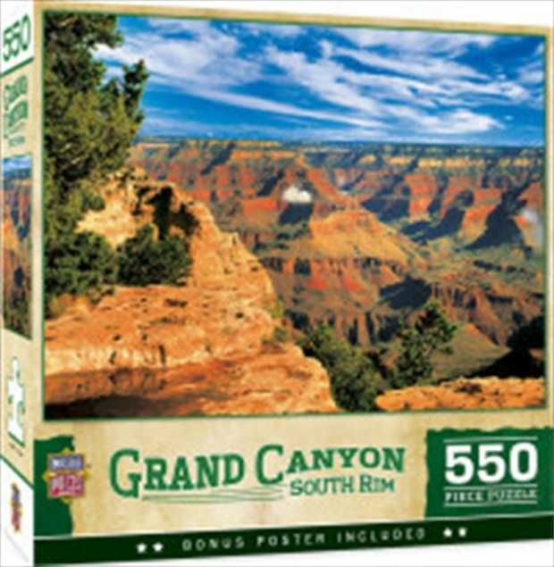 "This MasterPieces 15"" x 21"" 500PC National Park Puzzle brings the wonders of the world right..."