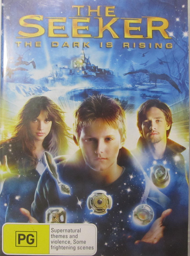 Three family DVDs  for holiday season entertainment. 1) The Seeker, The Dark is Rising. 2) Tim Burton's...